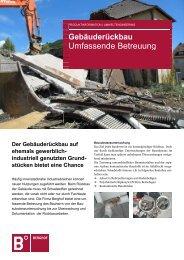 Gebäuderückbau (PDF | 1.1 MB) - Berghof