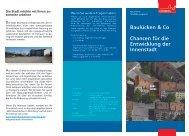 Flyer Baulücken & Co - Chancen für die ... - Stadt Nürnberg
