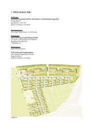 Klimagerechte Pilotsiedlung Marienhöhe Erfurt - Wettbewerb - 1. Preis