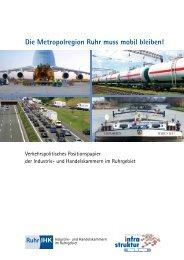 Metropolregion Ruhr - und Handelskammer Nord Westfalen