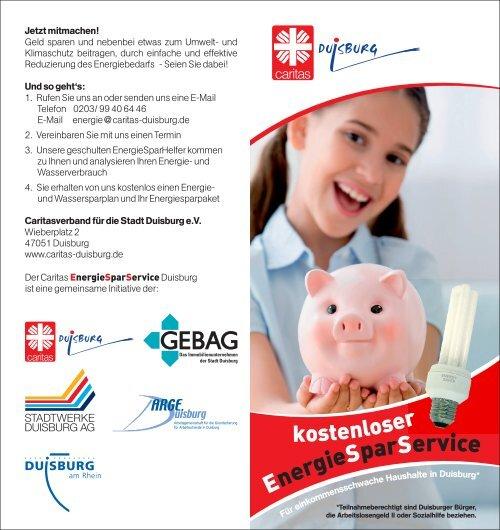 Info-Flyer herunterladen - Caritasverband Duisburg e.v.
