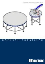 Broschüre Drehspeichertisch - Broich-Systemtechnik GmbH