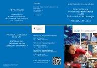 FITweltweit - Fachgruppe Informatik an der RWTH Aachen
