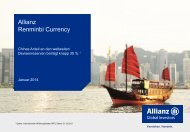 Allianz Renminbi Currency A USD - Allianz Global Investors