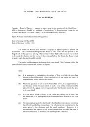 INLAND REVENUE BOARD OF REVIEW DECISIONS Case No. D41 ...