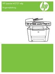 Understøttede printerdrivere til Windows - Hewlett Packard