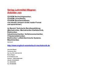 ebooks und software Fachwort Uebersetzung-Mechatronik kfz