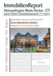Ausgabe 56/13 vom 7. Mai 2013 - ImmobilienReport Metropolregion ...