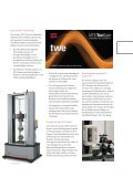 Elektromechanische Universalprüfsysteme MTS Criterion® Serie 40 - Page 5