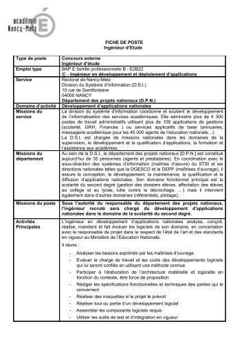 Développement d'applications nationales [PDF - 67 Ko ]