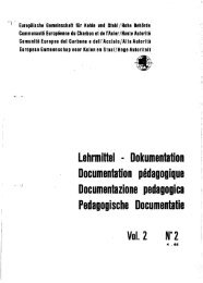 Documentation pédagogique Documentazione pedagogica ...