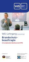 Infos und Termine 2013 kompakt - VdS
