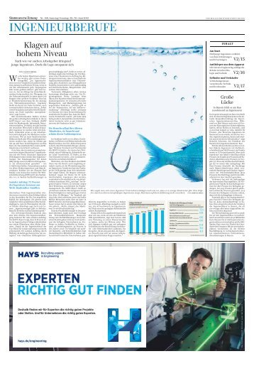 Ingenieurberufe - Süddeutsche Zeitung