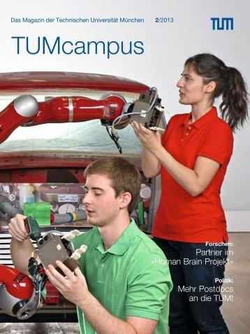 TUMcampus 2/2013 - Technische Universität München