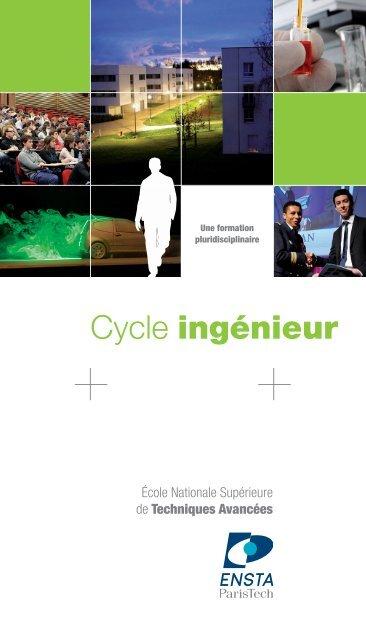 Cycle ingénieur - ENSTA ParisTech