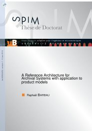 A reference architecture for archival systems with application ... - TEL