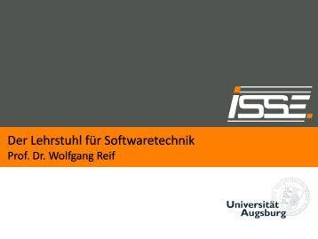 Der Lehrstuhl für Softwaretechnik und Programmiersprachen