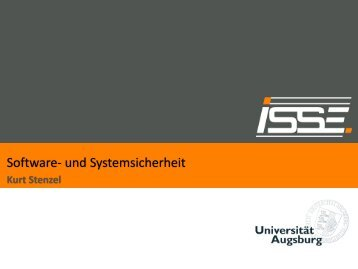 Software- und Systemsicherheit