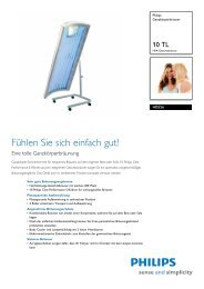 Leaflet HB556 01 Released Germany (German) High-res ... - Philips