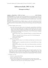 Lösung zu Blatt01 - Universität Augsburg