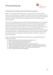 Verbände starten Qualitätsinitiative für Erdwärmesysteme