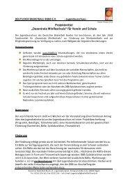 """Projektmittel """"Dezentrale Minifestivals"""" für Verein und Schule"""