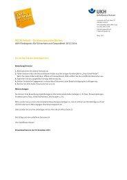 Interaktives Bewerbungsformular - Unfallkasse Hessen