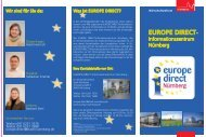 Flyer des EUROPE DIRECT-Informationszentrums ... - Stadt Nürnberg