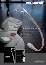 Preisliste/pricelist Download PDF - Brumberg Leuchten