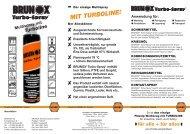 Multispray mit Turboline - Brunox