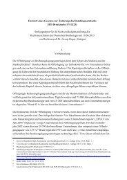Stellungnahme Dr. Georg Zinger - Deutscher Bundestag