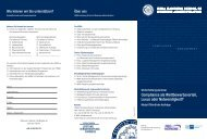 Flyer - Schulungsangebot - Modul öffentliche Aufträge