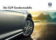 (K) Die CUP-Sondermodelle
