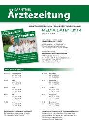MEDIA DATEN 2014 - Ärztekammer für Kärnten
