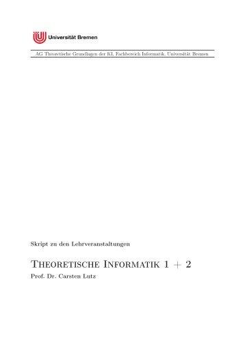 Skriptes - Uni Bremen - Universität Bremen
