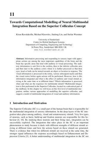 Towards Computational Modelling of Neural Multimodal Integration ...