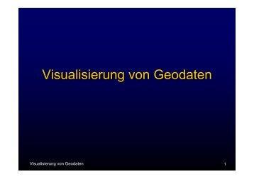 Visualisierung von Geodaten