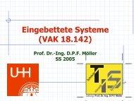 1.3 Grundlagen eingebetteter Systeme