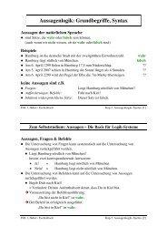 Aussagenlogik: Grundbegriffe, Syntax
