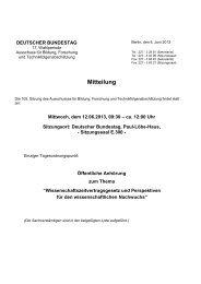 105. Sitzung am Mittwoch, dem 12. Juni 2013, 9.30 Uhr - Deutscher ...