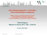 MRSA und andere antibiotikaresistente Erreger - Stadt Augsburg