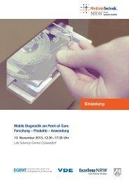 Mobile Diagnostik am Point-of-Care: Forschung ... - BioIndustry