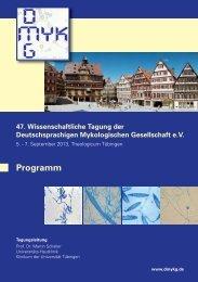 Programm - Universitäts-Hautklinik Tübingen