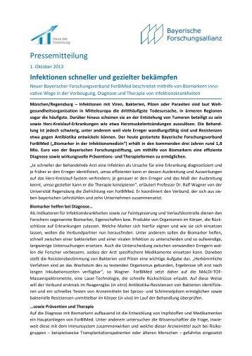Mehr (PDF) - Bayerische Forschungsallianz