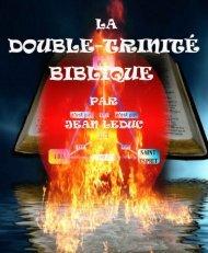 La double trinité biblique.