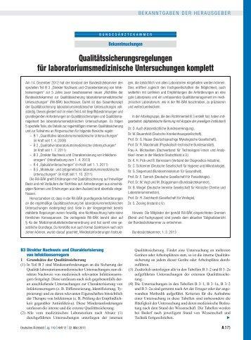 Richtlinienteil B 3 - Deutsches Ärzteblatt