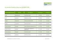 Arzneimittel-Rabattverträge der BARMER GEK