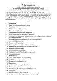 Prüfungsordnung - Hochschule Anhalt