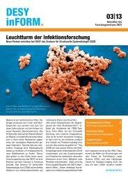 Leuchtturm der Infektionsforschung - Desy