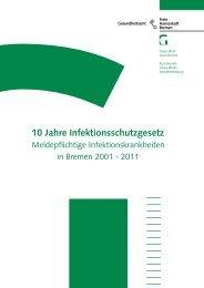 10 Jahre Infektionsschutzgesetz: Meldepflichtige ...